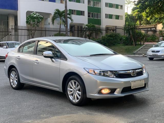 Honda Civic LXR 2.0 Aut. 2014 Único dono C/Todas as revisões feitas na concessionária - Foto 9