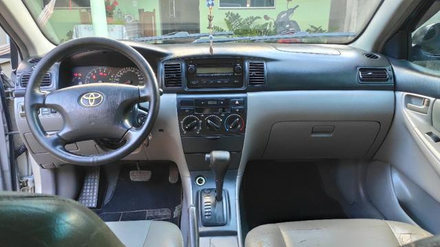 Toyota Corolla Xei automático Carro Bem Conservado 2005/2006 - Foto 9