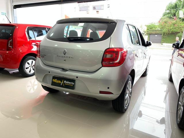 Renault-Sandero Expression 2019 1.0 12v Flex.Sem Entrada+48xR$1.199,00 - Foto 5