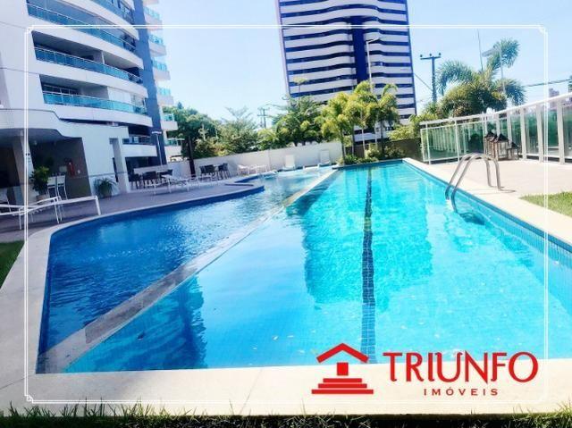 (EA) apartamento a venda no Guararapes com 145 metros- 3 quartos 3 vagas - Foto 2