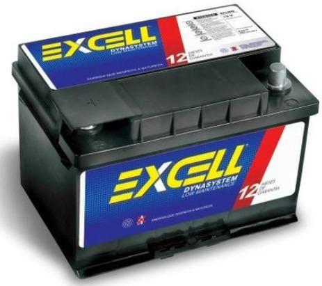 Bateria Excell 60Ah - Mais Barata do OLX - Foto 2