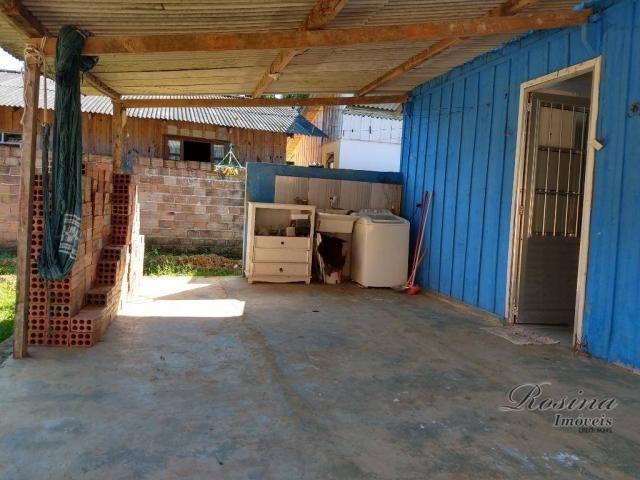 Casa térrea de madeira com 3 quartos - Reta da América - Morretes/PR - Foto 10