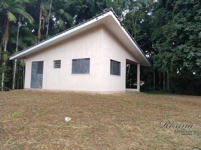 Chácara com fundos para o rio - 2559 m² por R$ 195.000 - América de Baixo - Morretes/PR - Foto 2