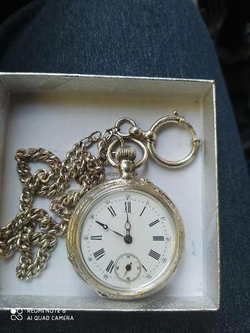 Relógio de bolso em prata original