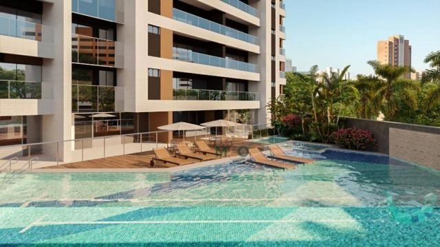 Apartamento com 3 dormitórios à venda, 112 m² por R$ 875.000 - Aldeota - Fortaleza/CE - Foto 3