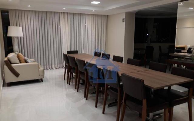 Lindo Apartamento Semimobiliado, 2 Suítes e 1 Quarto, Sacada Gourmet, no Centro! - Foto 20