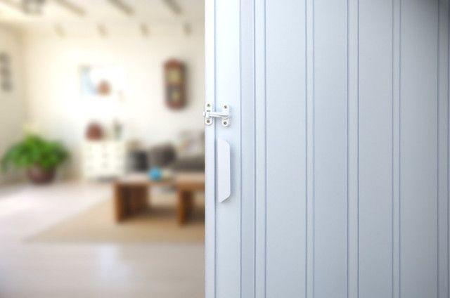 Porta PVC Sanfonada Branca ou Marrom Nova de 0,70cm a 1,00m (valores na descrição) - Foto 3