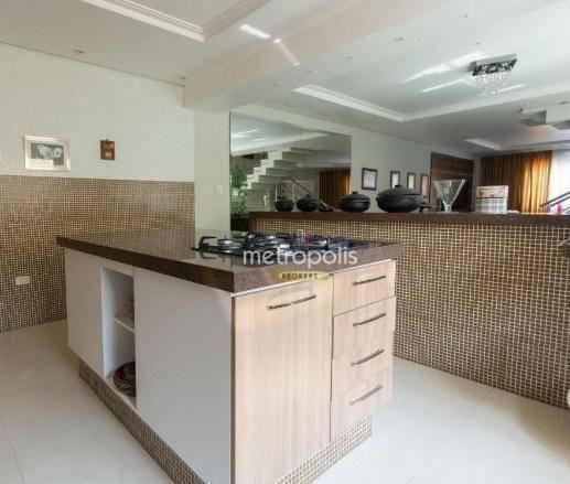 Sobrado para alugar, 427 m² por R$ 8.400,00/mês - Cerâmica - São Caetano do Sul/SP - Foto 8