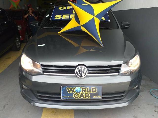 Saveiro highline 2015 cabine dupla, 5 lugares é na World Car