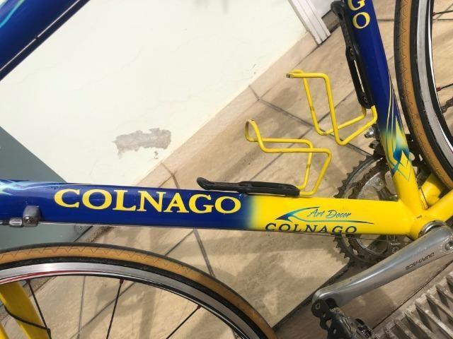 Bicicleta Colnago Titânio Antiga Tamanho 54 - Foto 2