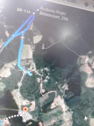 Urgente!!!Torro terreno proximo do asfalto br 116 1km - Foto 16
