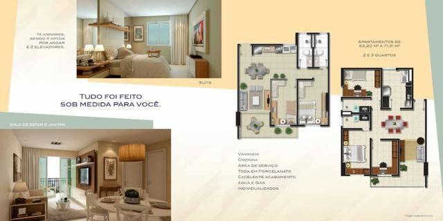 Apartamentos novos com 2 e 3 quartos no Bairro Jacarecanga. - Foto 6
