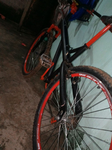 Vendo bicicleta quadro de Alumínio - Foto 3
