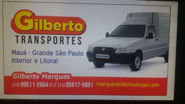 Gilberto transp. em fiorino furgão p/ todo Brasil(whatsaApp 11- *) - Foto 2