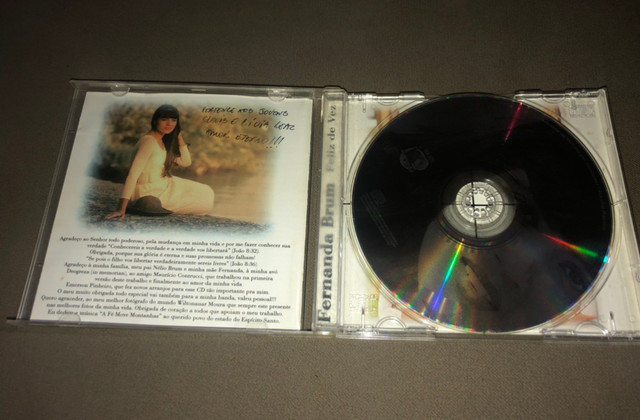 CD Fernanda Brum - Feliz de Vez - Raridade - Foto 3