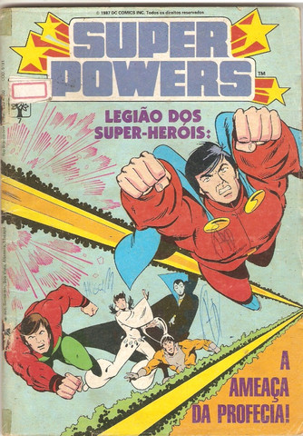 Kit Quadrinhos DC (Super-Powers, DC Especial e DC 2000) - 6 revistas