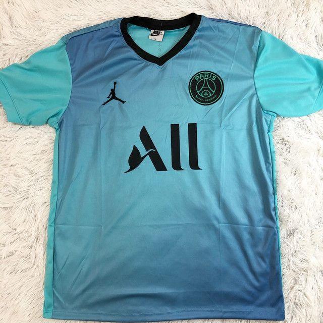 Camisas de clubes brasileiros e europeus  - Foto 2