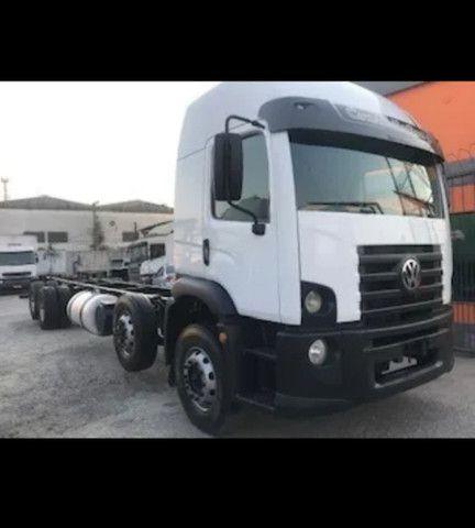 Vw 24250 Cabine Leito Bi Truck 4o Eixo Direcional<br><br> - Foto 9