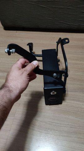 Suporte lateral e traseiro baú GIVI e caixa de ferramentas F800 GS - Foto 6
