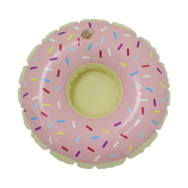Boia Porta Copos Inflável Donuts - Foto 2