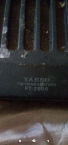 Rádio Px yaesu FT 2900r - Foto 2