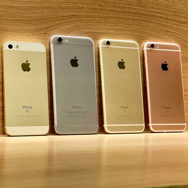 iPhones a partir de 599,00 com Nota fiscal / 3 meses de garantia