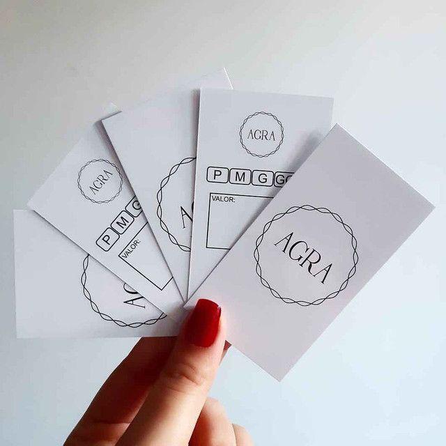 Tag de roupa, cartões de agradecimento, cartão de Visita.  - Foto 5
