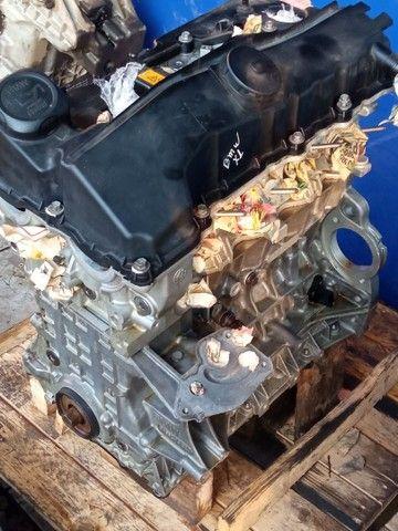 Motor parcial BMW X1/320/118 2010 gasolina  - Foto 6