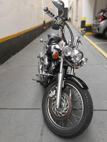 Yamaha drag star  2005 com 65.400KM - Foto 9