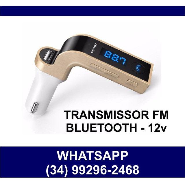 Transmissor FM Bluetooth Som de Carro * Fazemos Entregas