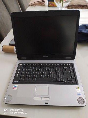 Notebook Toshiba Usado - Retirar peças. - Foto 2
