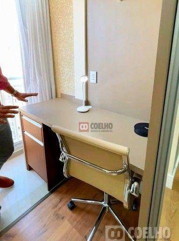 Apartamento Luxuoso Totalmente Mobiliado, 2 Quartos com Suíte em Condomínio Clube - Bairro - Foto 11