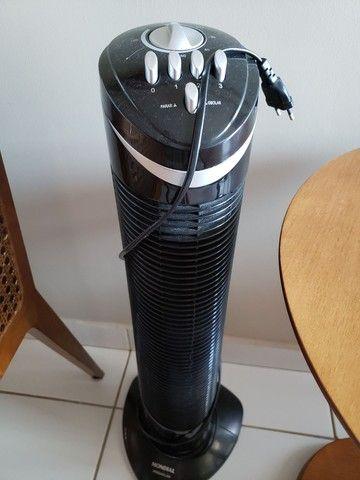 Circulador de ar, modelo torre premium