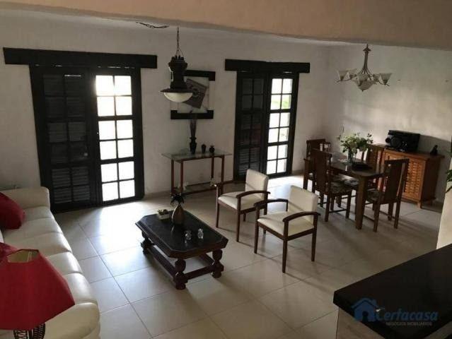 Duplex com 04 quartos  sendo 01 edícula, árvores frutíferas, vista para a lagoa. - Foto 4