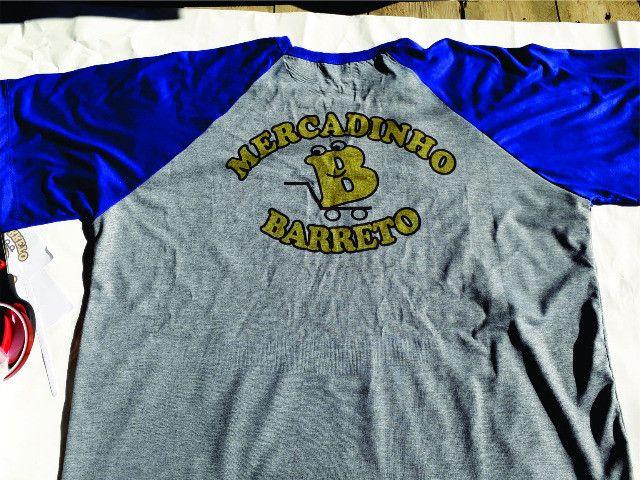 Camiseta Raglan Personalizada - Foto 4