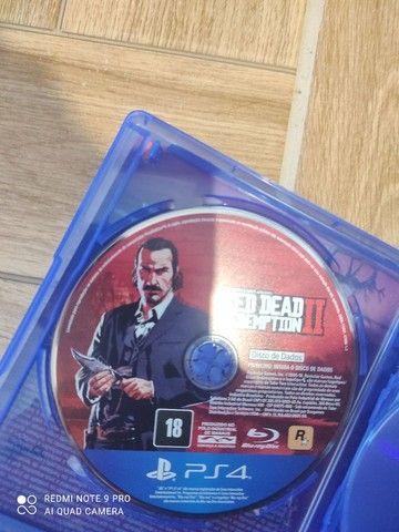 Jogo red dead redemption 2 simi novo - Foto 4