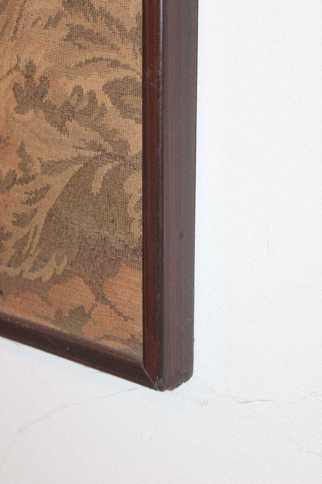 Quadro Tapeçaria / Tapete de parede / Gobelin / em Tecido Bege 103 cm x  203 cm x  3 cm - Foto 3