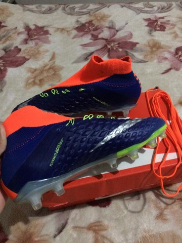 Vendo ou troco chuteira da Nike Hypervenom original - Foto 4