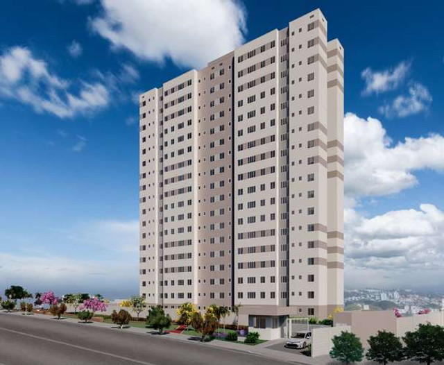 Estilo Sintonia - 2 quartos com suíte - Belo Horizonte /MG