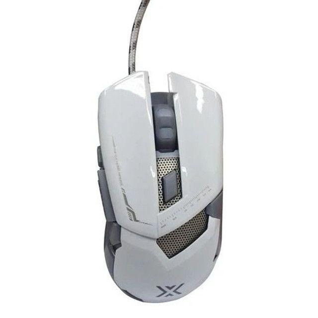 Mouse Gamer Usb 7 Botões 3200Dpi Com Iluminação  - Foto 2