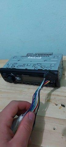radio pioneer usb cd  radio e auxiliar - Foto 3