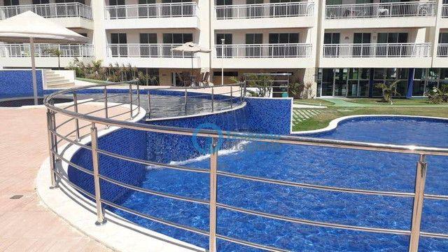 Apartamento com 3 dormitórios à venda, 110 m² por R$ 530.000 - Porto das Dunas - Aquiraz/C