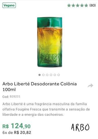 Perfumes ARBO'S (Ocean, Liberté ou Reserva) de O Boticário em Promoção - Foto 2
