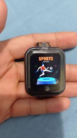 Smartwatch D20 Y68 novo na caixa - Foto 4