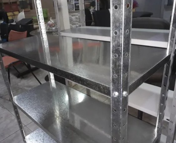 prateleira de aço galvanizado com 6 bandejas - Foto 2
