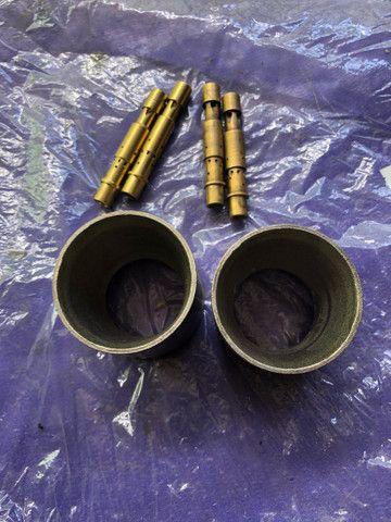 Weber 40 - Venture 28mm e tubos misturadores