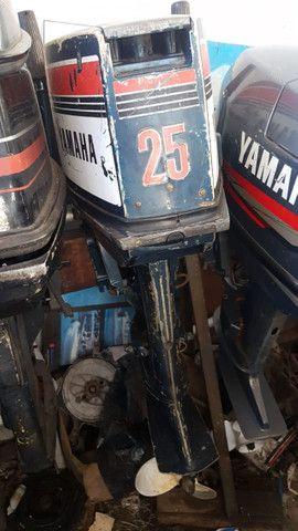 Motor yhamaha enduro 25 hp,todo revisado . Oportunidade ùnica - Foto 6