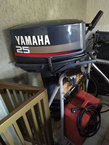 Motor yhamaha enduro 25 hp,todo revisado . Oportunidade ùnica - Foto 3