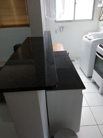 Vendo apartamento semimobiliado térreo 2 quartos - Foto 6