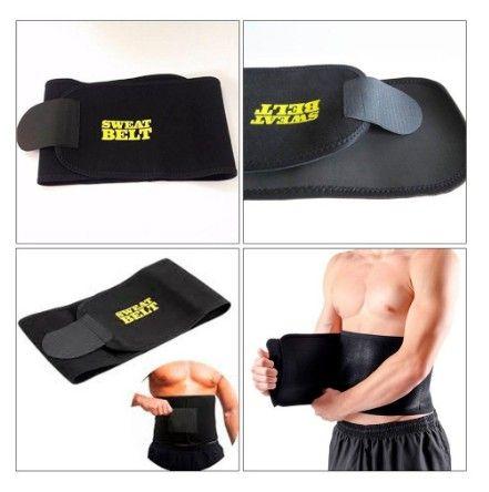 Cinta Modeladora Sweat Belt Fitness Crossfit yoga (A101) - Foto 4
